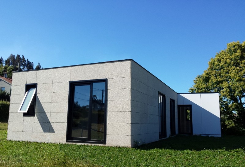 Casas modulares galer a de dise o modular - Casas prefabricadas baratas en galicia ...